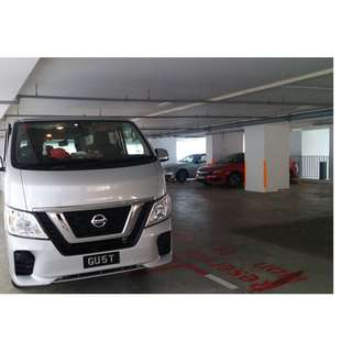 7months old Nissan NV350 Auto Dissel With Beautiful & Nice Single Plate Number For Lease