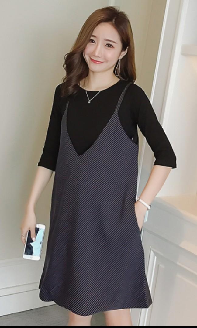 a23597aa70f 2 piece maternity pregnancy wear dress