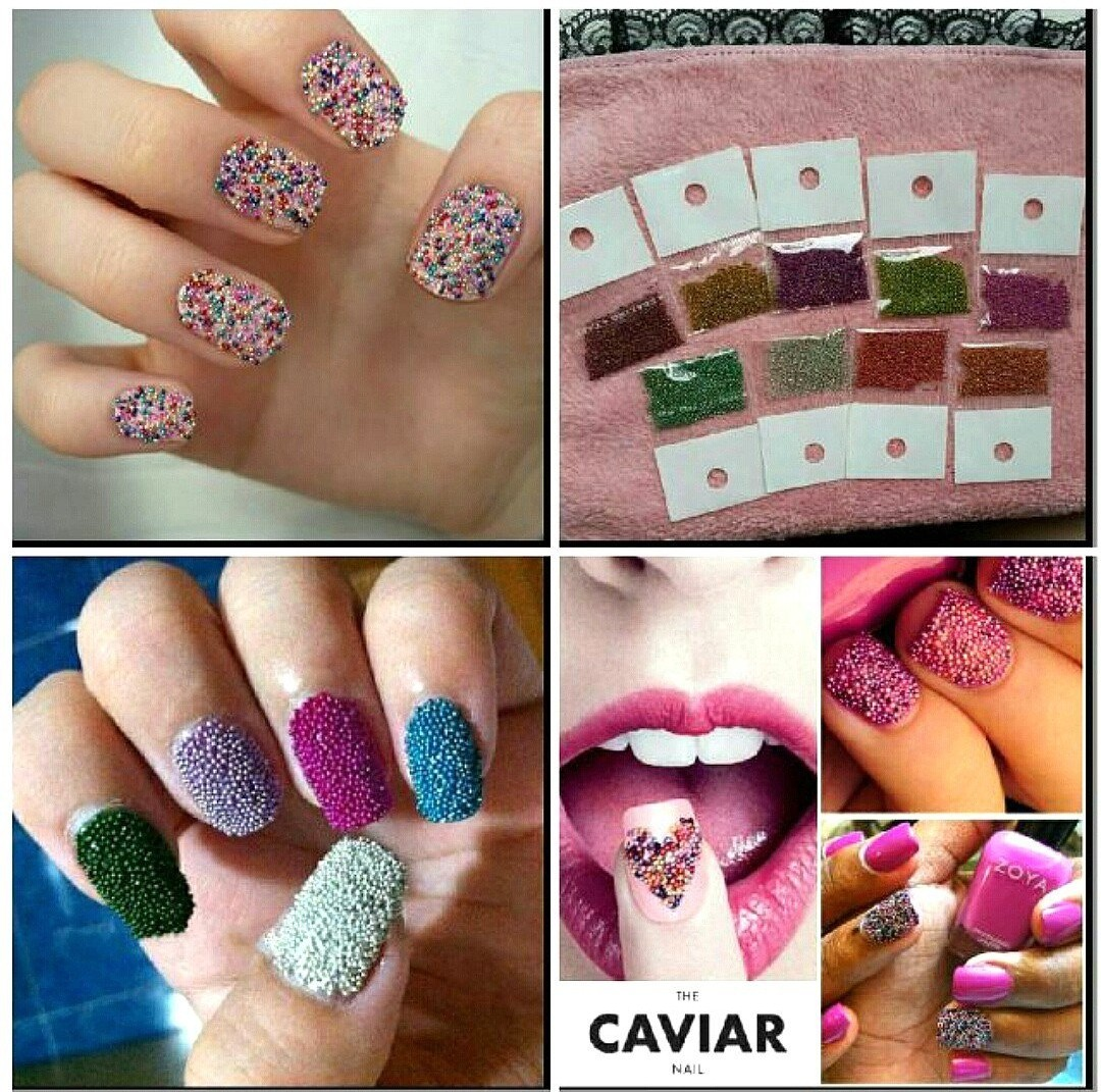 Buy 2 Free 1 Nail Art Caviar Beads Health Beauty Hand