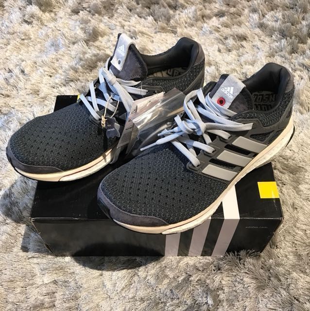 competitive price 8cb6d 0d91d Adidas Consortium Run Thru Time Energy Boost UK8 US8.5, Mens Fashion,  Footwear, Sneakers on Carousell