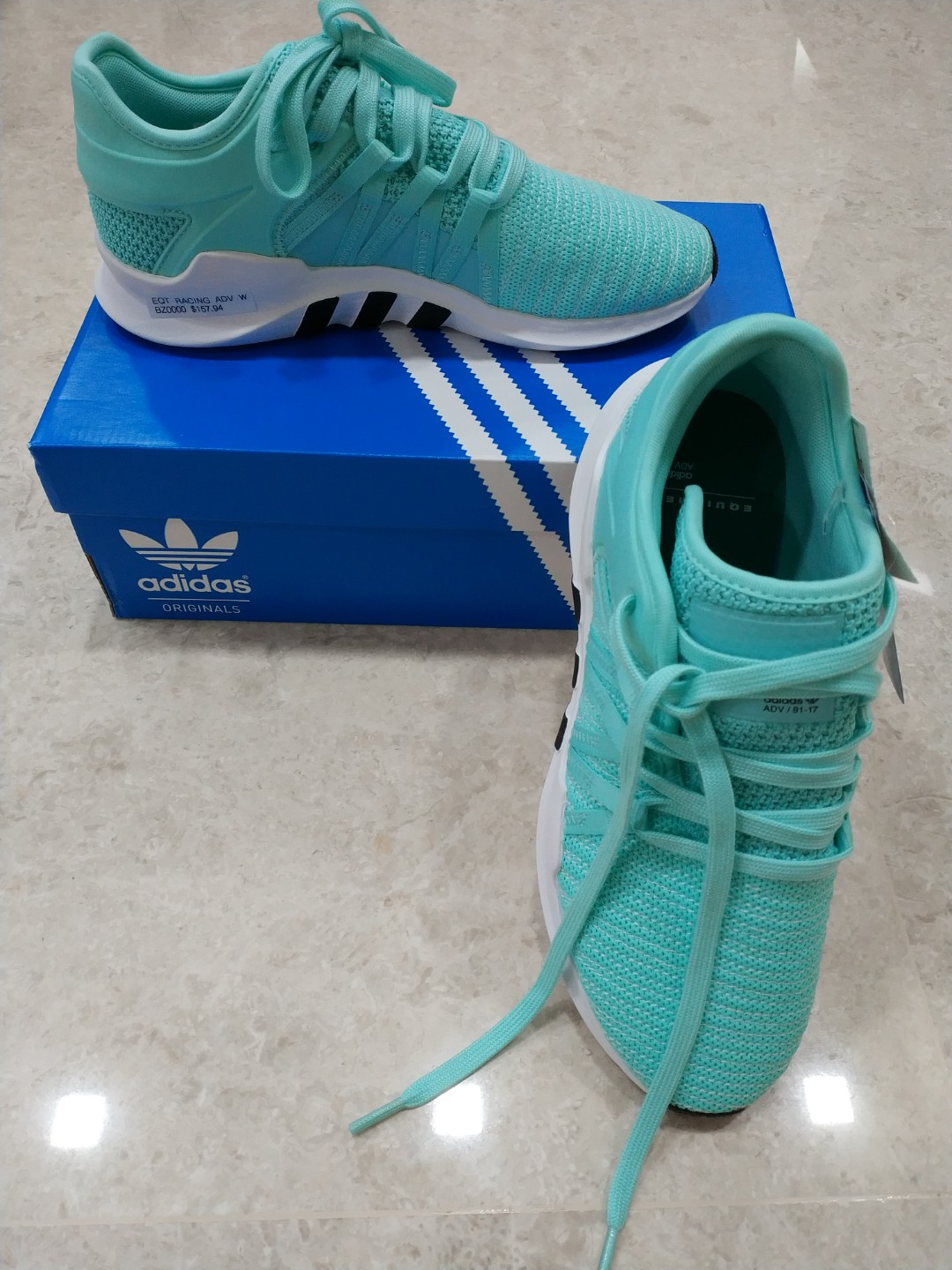 sale retailer 50636 b8732 Adidas EQT Racer ADV W, Women's Fashion, Shoes, Sneakers on Carousell