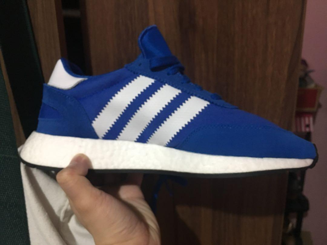 Adidas Iniki Boost / I-5923 Blue Size 8