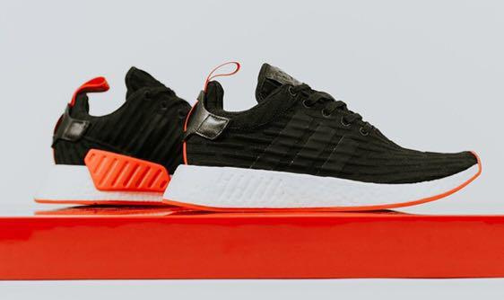 Adidas NMD R2 PK (Bred Colorway), Men's