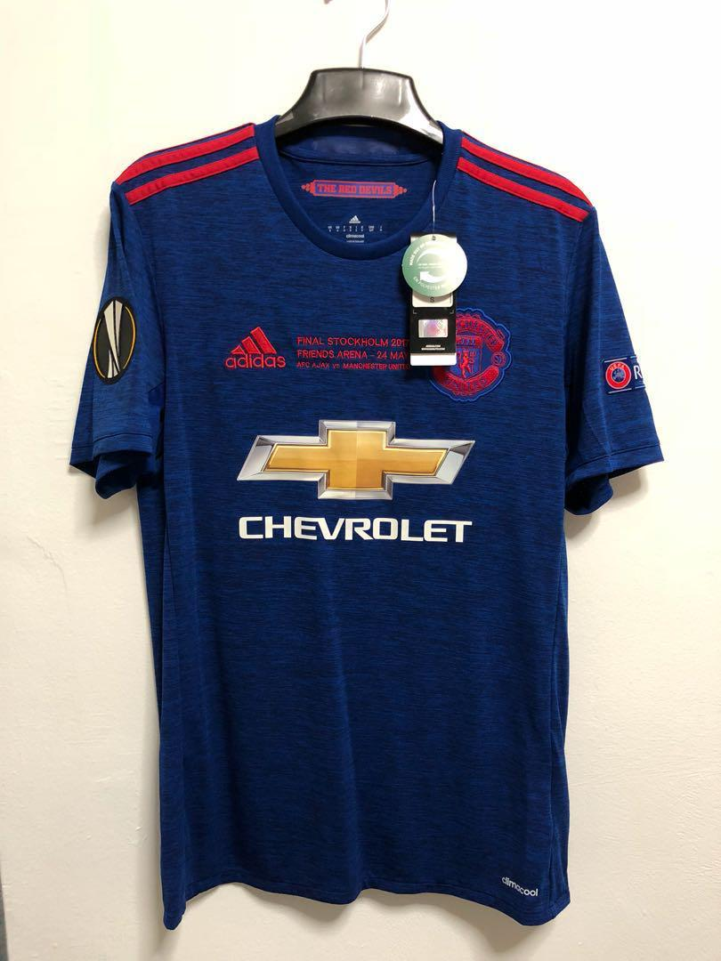 newest 11ca5 85884 Authentic Manchester United 16/17 jersey shirt FINAL ...