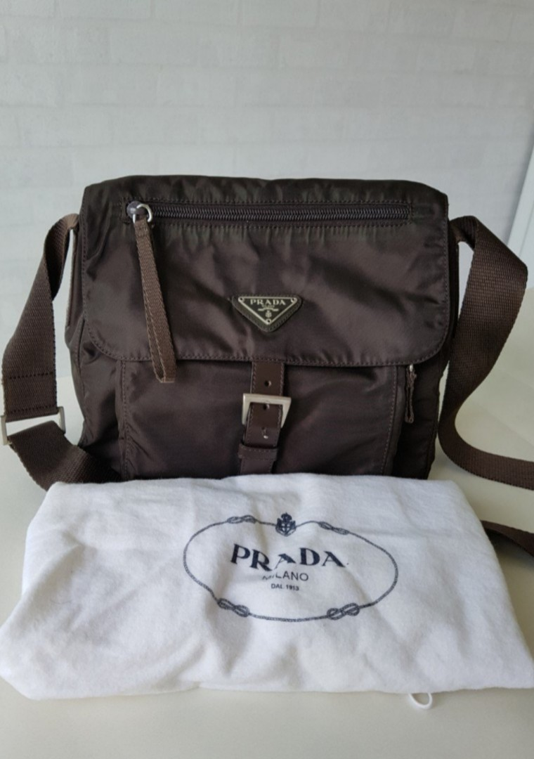 641c2cc004c6 ... canada authentic prada bag 24length 10width24 height cm luxury bags  wallets sling bags on carousell 5cb49