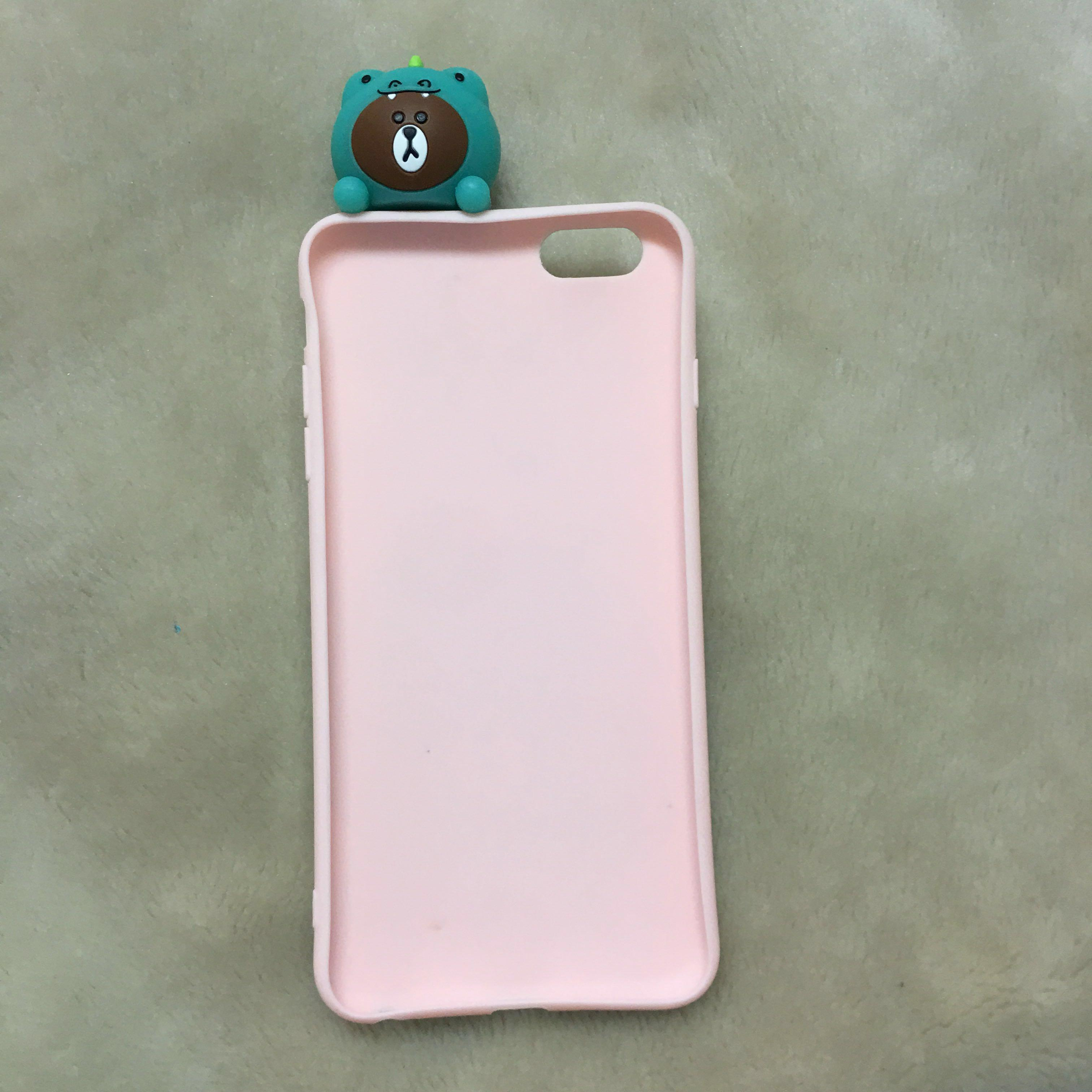 Brown Crocodile iPhone 6+ Case