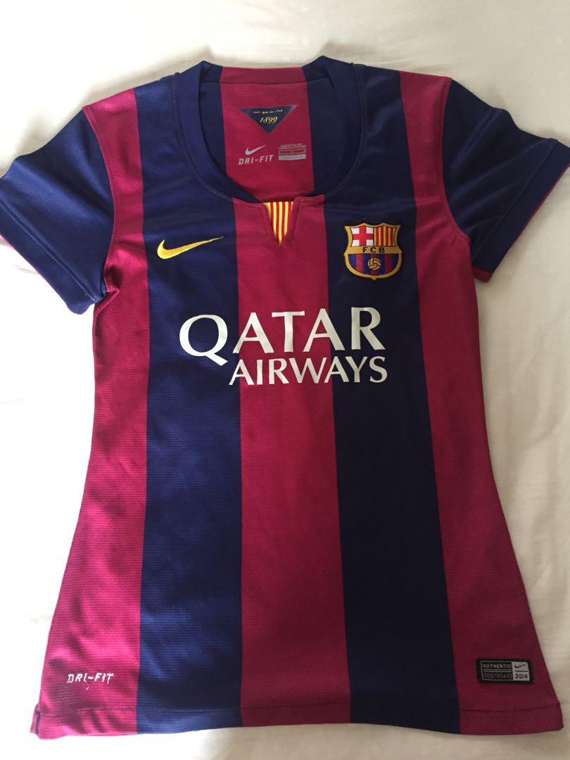the latest 48a5e b598d FC Barcelona Ladies 14/15 Home Kit, Sports, Sports Apparel ...