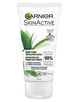 Garnier SkinActive Pore Exfoliating Scrub with Green Tea Extract