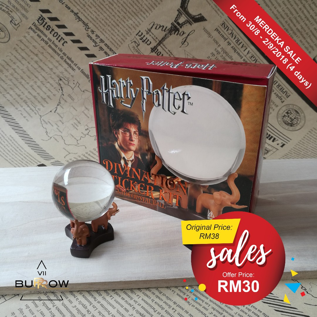Harry Potter Divination Sticker Kit with Crystal Ball