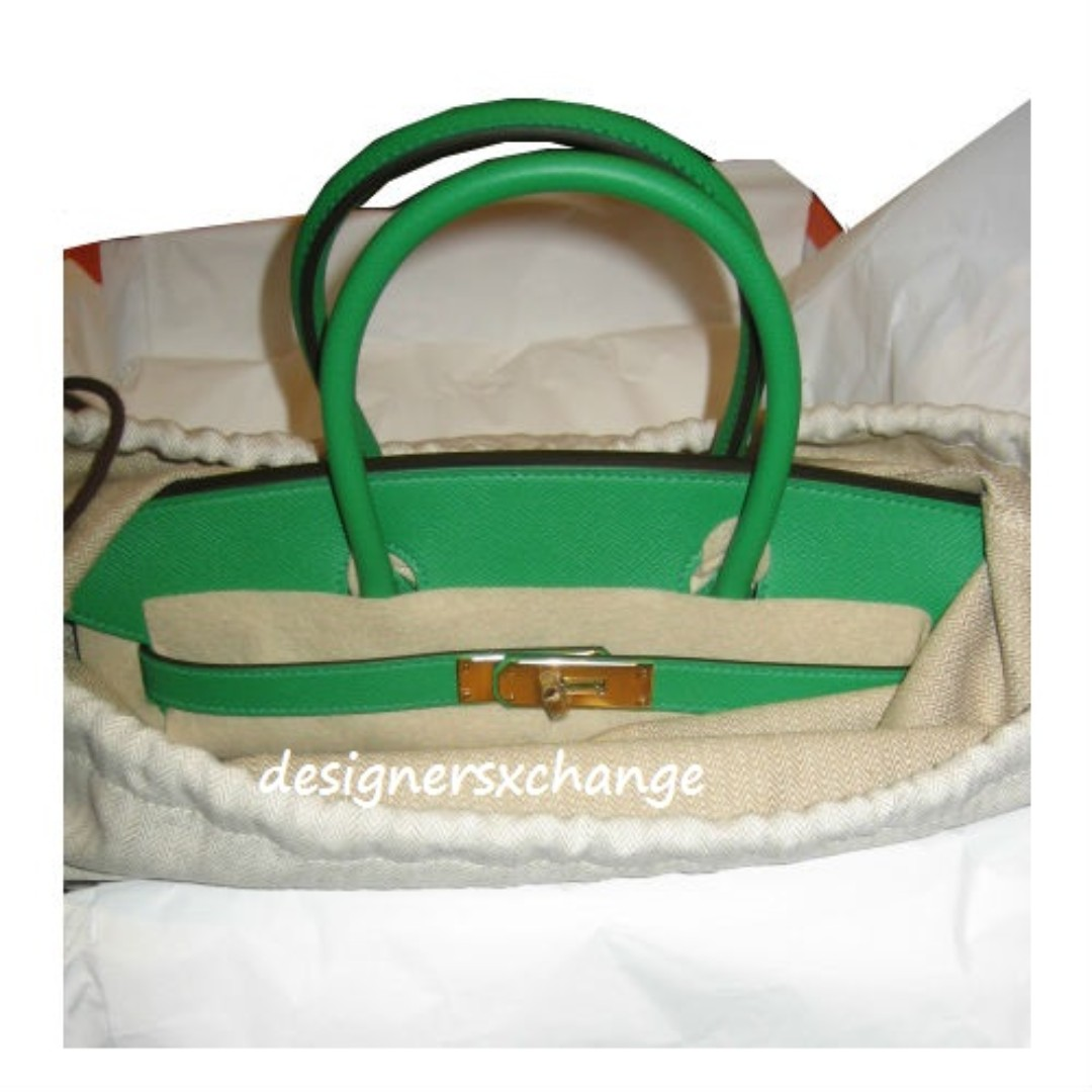 22d21617e1 Hermes Birkin 30 Bamboo Epsom with Gold Hardware Brand NEW (R stamp ...