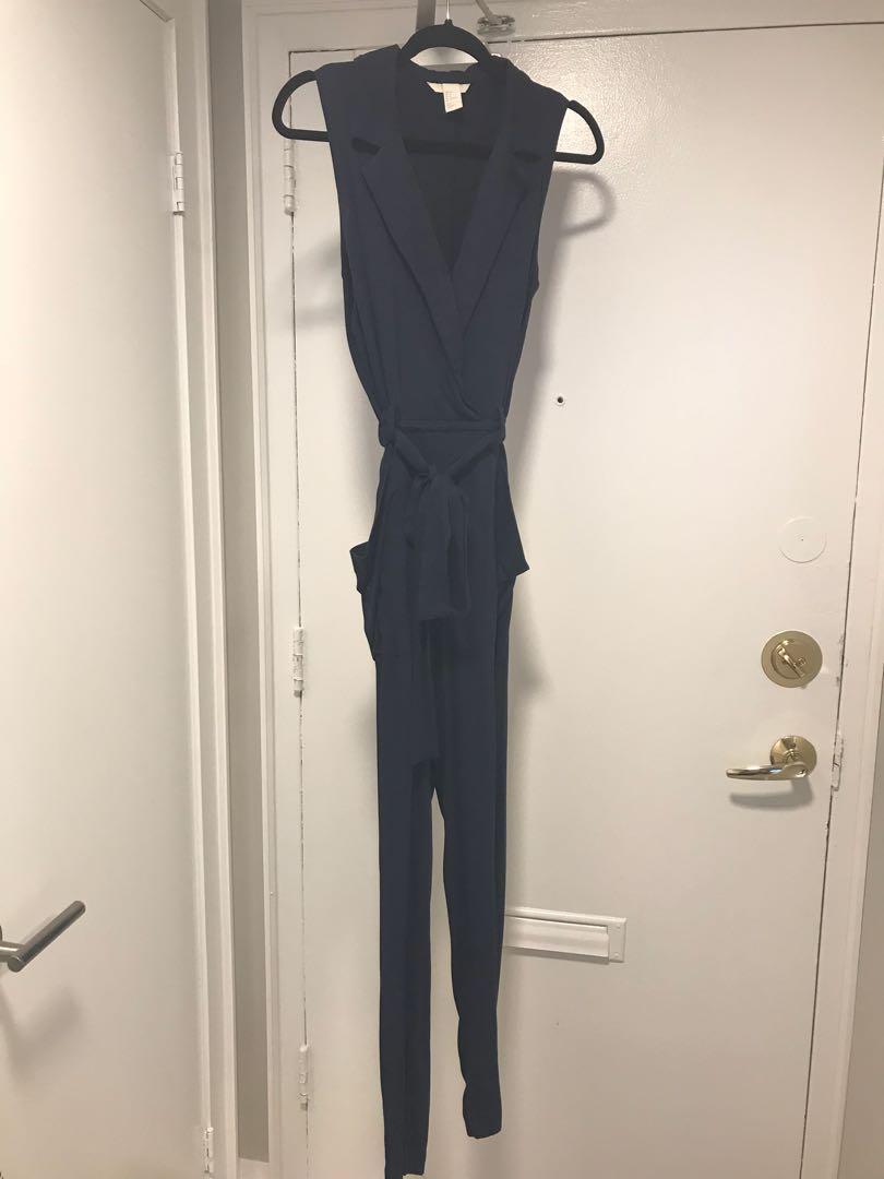 H&M navy blue jumper