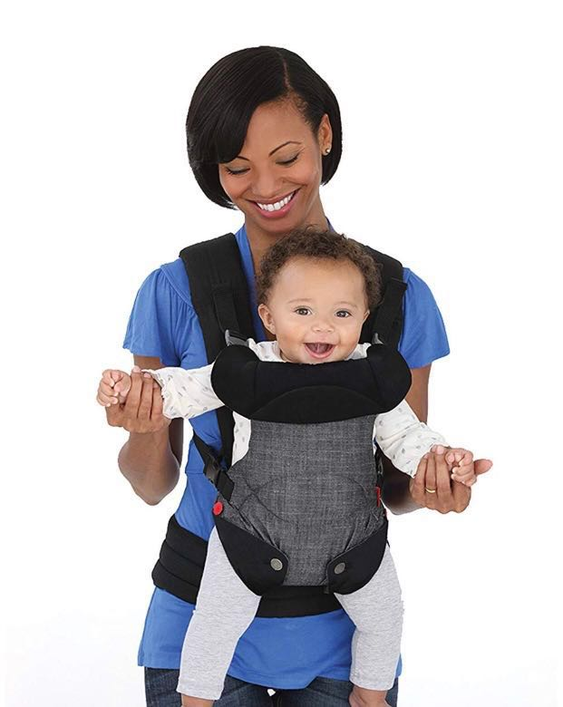 Ibrand New Infantino Fusion Flexible Position Baby Carrier Grey