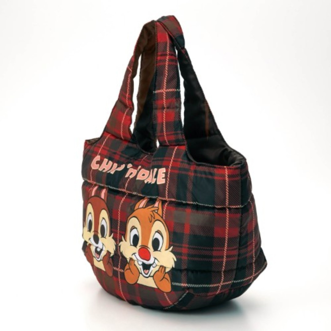 de1c5e14a7 Japan Disney Chip   Dale Fluffy Round type Tote Bag