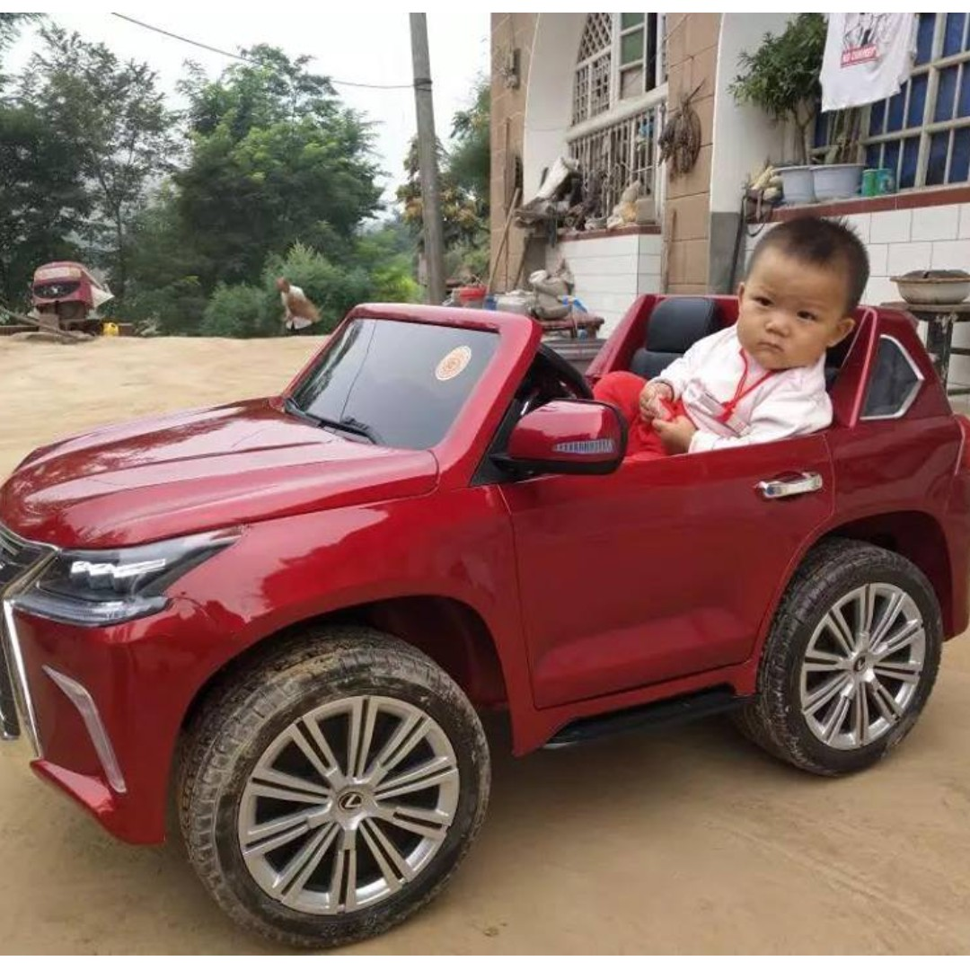 License Lexus Lx570 Electric Ride On Toy Car For Kids Babies Kids