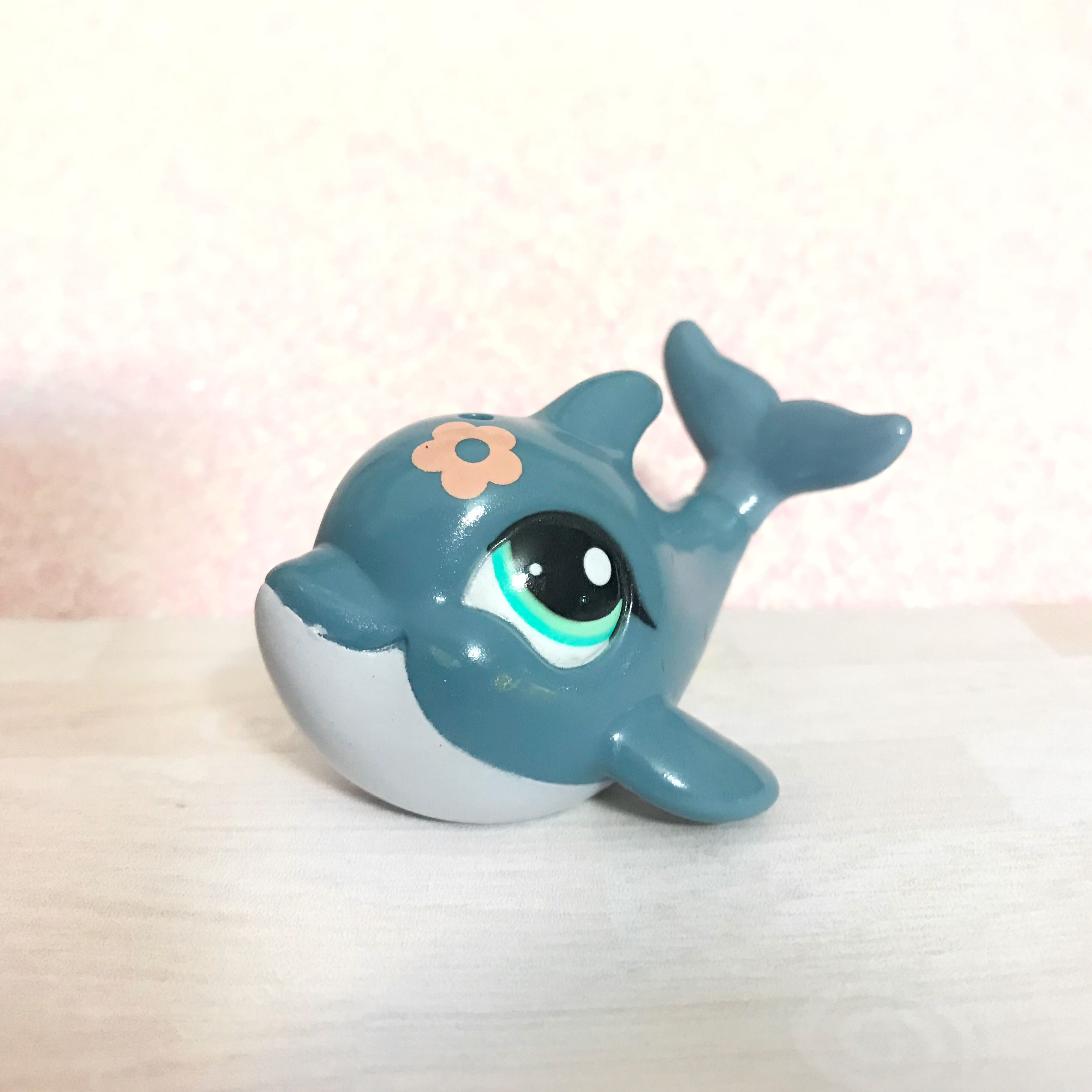 Littlest Pet Shop Special Edition Dolphin Toys Games Bricks