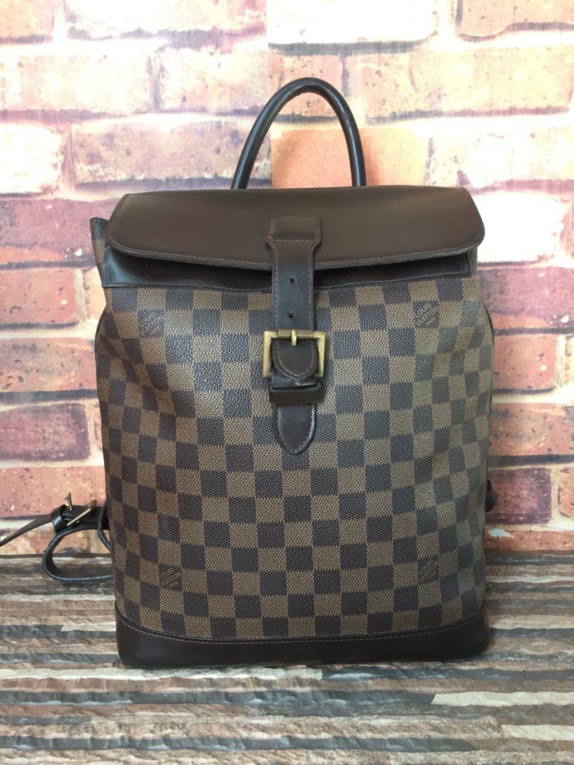 55cbe834f0d 💥Louis Vuitton Lv Damier Ebene Soho Medium Backpack💥, Luxury, Bags    Wallets on Carousell