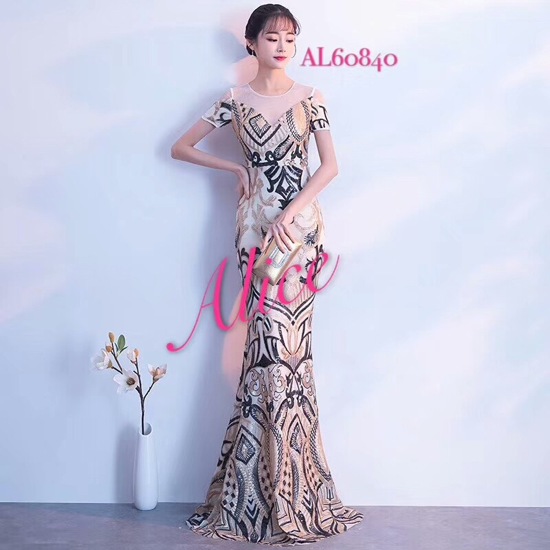 Mermaid Dress Evening Gown Gaun Pesta Women S Fashion Women S