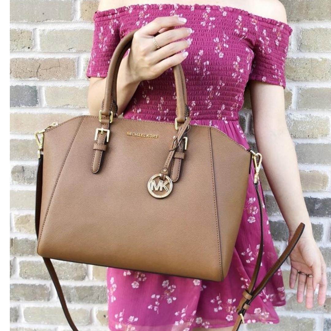 f9654262d66f Michael Kors Ciara Large Satchel Bag