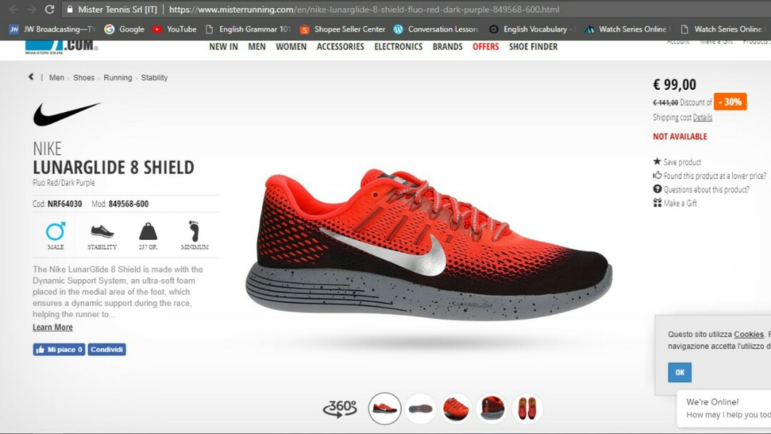 low priced bf9e9 f723e NIKE LUNARFLY 4 RUNNING SHOES, Mens Fashion, Footwear on Car