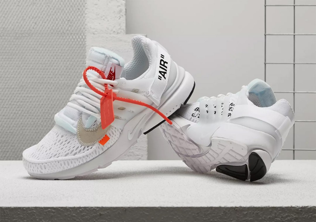 release date 3f0be b15ee Nike Off White Air Presto