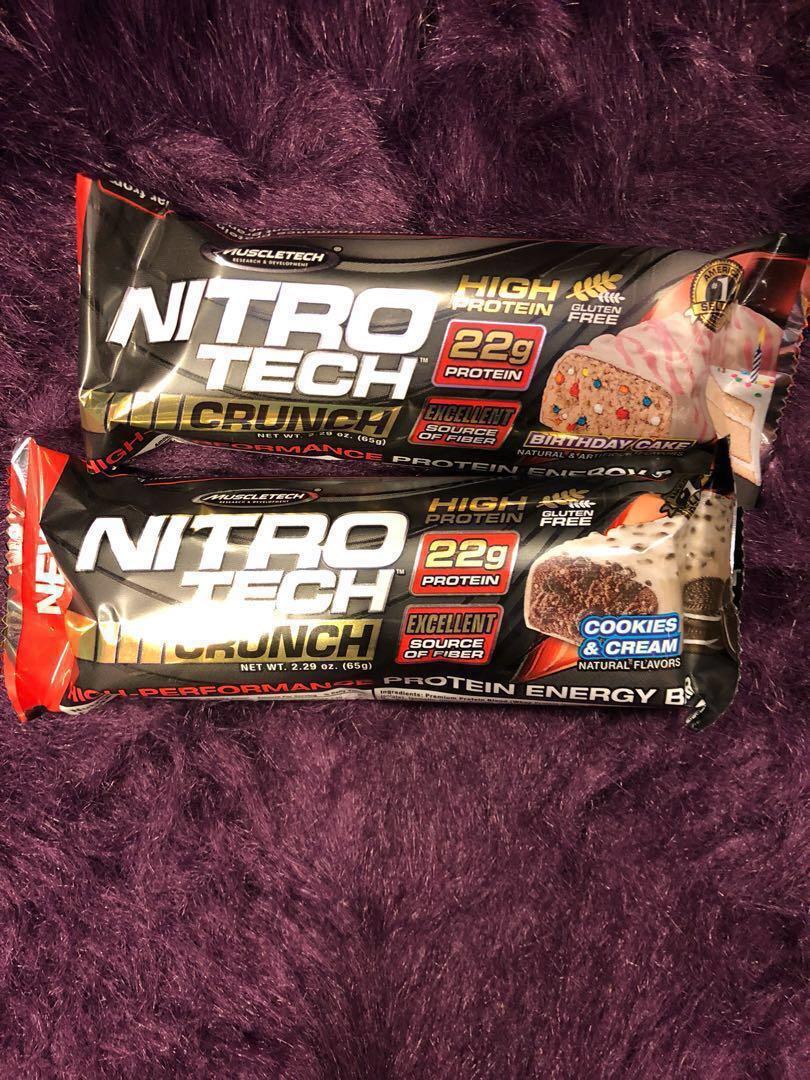 NITRO TECH BAR Food Drinks Packaged Snacks On Carousell
