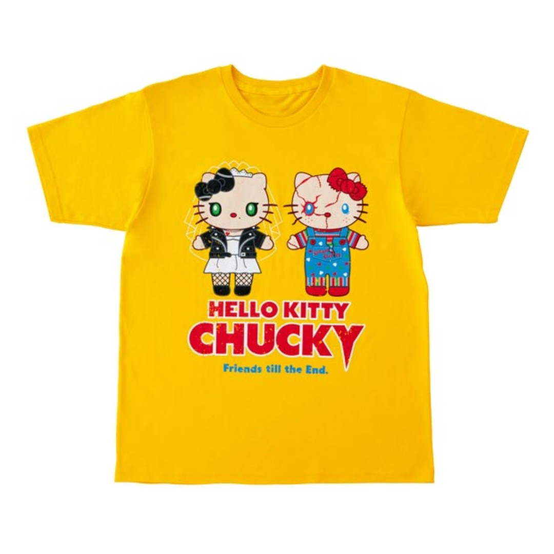 1c329f5e PO] Universal Studio Japan Hello Kitty Chucky Halloween T-shirt ...