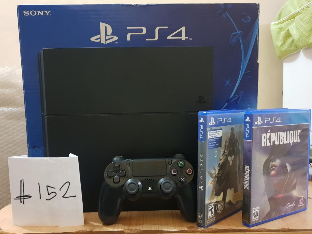 PS4 Pro Slim Fat with warranty free games - Nationwide Cash