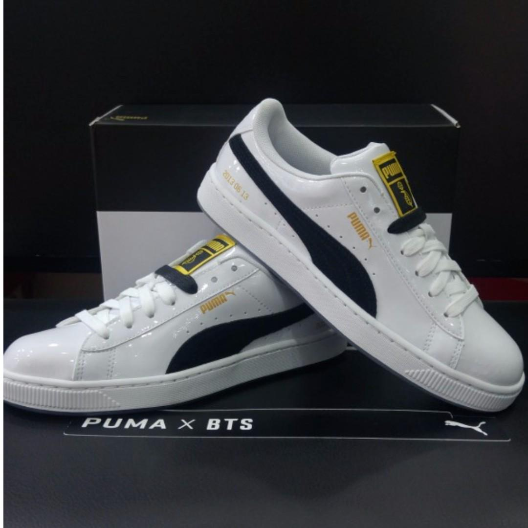new arrival e2117 cbef5 PUMA BTS Basket, Women's Fashion, Shoes, Sneakers on Carousell