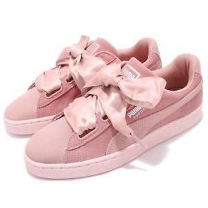 new concept 9cecb 9d54e Puma Suede Heart Pebble