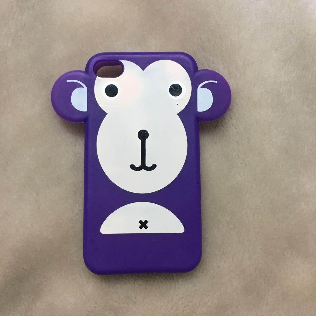 Purple Monkey iPhone 4s Case