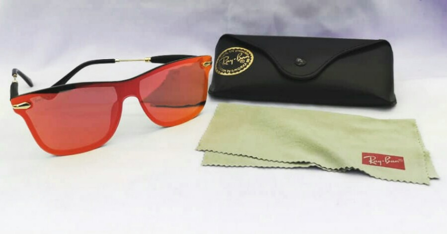 8794e0296e ... new style rayban justin blaze mens fashion accessories eyewear  sunglasses on carousell 8af90 e8a64