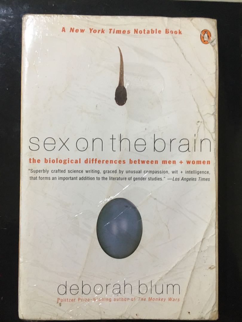 Sex on the brain book think