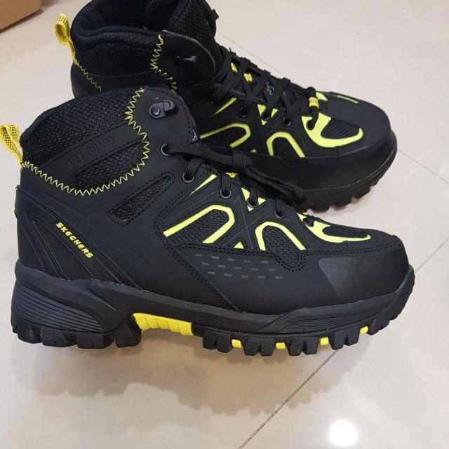 Skechers safety shoes/ alu alloy toe
