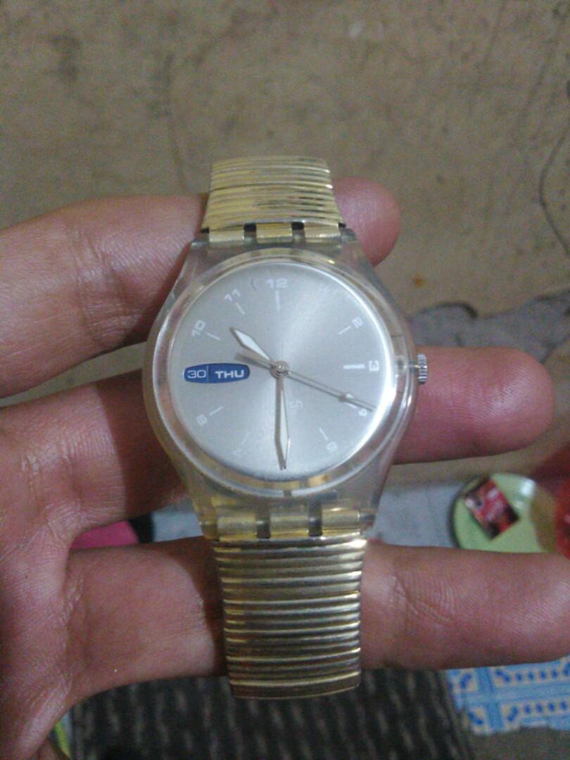 Swatch original day n date vintage