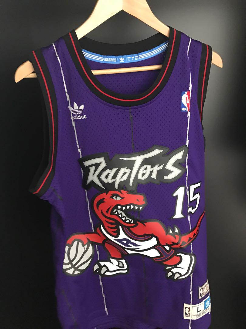outlet store 7b99a d4d76 Throwback Toronto Raptors Vince Carter jersey, Sports ...