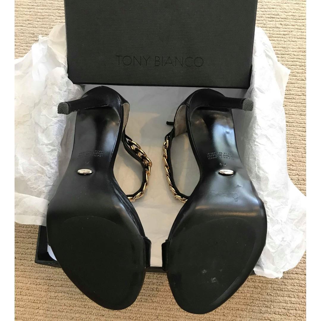 Tony Bianco black heels SIZE 7.5