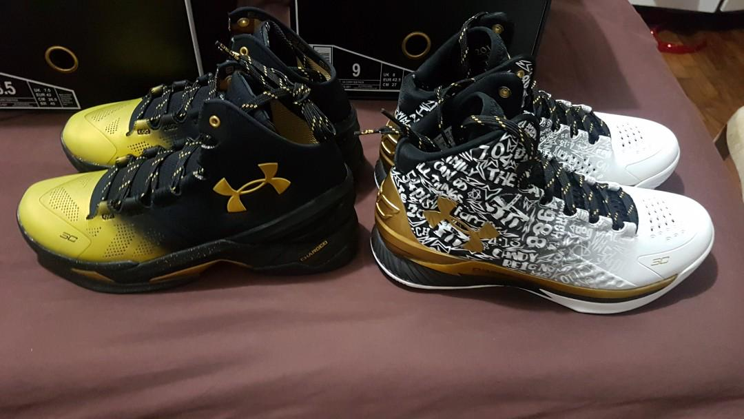 65c7ec9aae19 Under Armour Curry Back2Back MVP Pack on Carousell