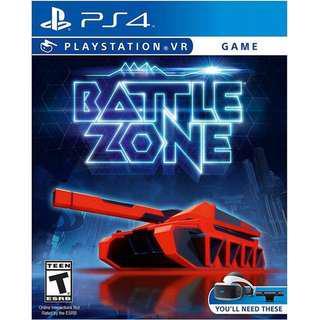 PS4 PSVR Battlezone