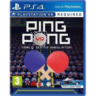 PS4 PSVR Ping Pong VR