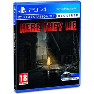 PS4 PSVR Here They Lie