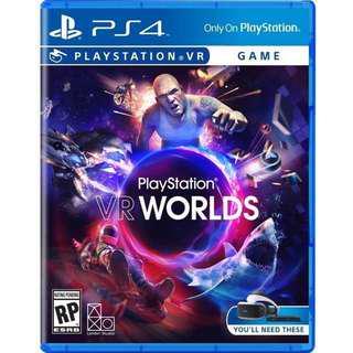 PS4 PSVR VR World
