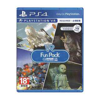 PS4 PSVR VR Fun Pack