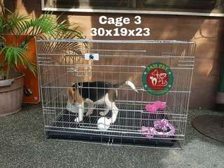 Stainless dog cage CAGE 3