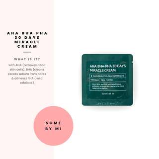 [Some By Mi] AHA BHA PHA 30 Days Miracle Cream