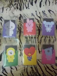 BT21 Clear Card Pocket