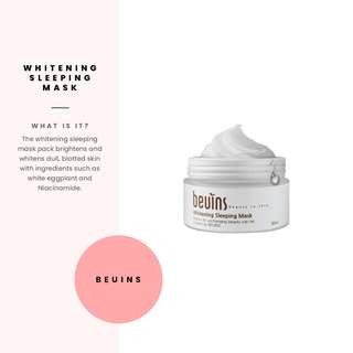 SEPTEMBER SALE [Beuins] Whitening Sleeping Mask