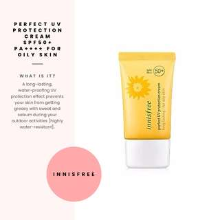 [Innisfree] Perfect UV Protection Cream SPF50+ for Oily Skin