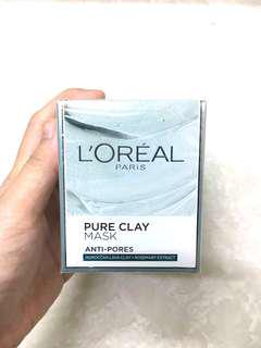 LOreal Pure Clay Mask Anti-Pores
