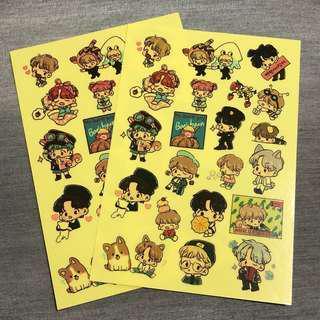 BaekHyun Fanart Stickers