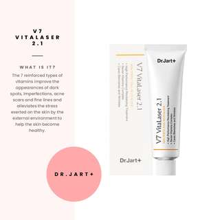 SEPTEMBER SALE [Dr.Jart+] V7 Skin Perfecting Vitalaser 2.1